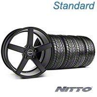 MMD 551C Black Wheel & NITTO Tire Kit - 20x8.5 (05-14 All) - MMD KIT||100261||76005