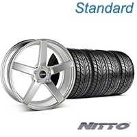 MMD 551C Silver Wheel & NITTO Tire Kit - 20x8.5 (05-14 All) - MMD KIT||100263||76005