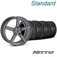 MMD 551C Charcoal Wheel & NITTO INVO Tire Kit - 20x8.5 (05-14 All) - MMD KIT||100259||79524