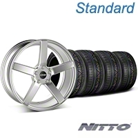 MMD 551C Silver Wheel & NITTO INVO Tire Kit - 20x8.5 (05-14 All) - MMD KIT||100263||79524