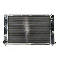 SR Performance Aluminum Radiator - Manual (97-04 GT, Mach 1; 97-01 Cobra) - SR Performance 100525