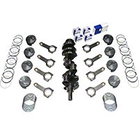 Scat Stroker 347 ci Forged Competition Rotating Assembly (79-95 5.0L) - Scat 1-45310