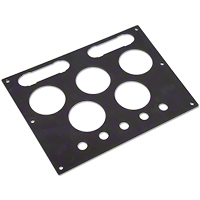 Radio Delete 5-Gauge Panel (05-09 All) - AM Interior GP001