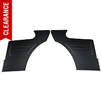 Scott Rod Rear Seat Delete Quarter Panels - Coupe - Black (87-93 All) - Scott Rod FQT-240 CA
