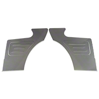 Scott Rod Rear Seat Delete Quarter Panels - Coupe (87-93 All) - Scott Rod FQT-240