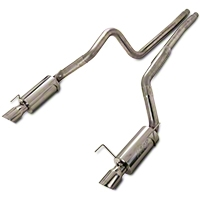 MBRP Street Catback Exhaust - Stainless Steel (05-09 GT; 07-10 GT500) - MBRP S7269409