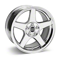 Chrome Deep Dish 2003 Style Cobra Wheel - 17x9 (94-04 All)