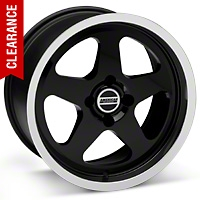 SC Style Black Wheel - 17x9 (87-93; Excludes 93 Cobra) - American Muscle Wheels 10078