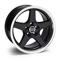 Black Deep Dish 2003 Style Cobra Wheel - 17x9 (94-04 All)