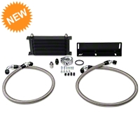 Mishimoto  Direct-Fit Performance Oil Cooler - Black  (79-93 5.0L) - Mishimoto MMOC-MUS-79BK
