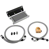 Mishimoto Thermostatic Direct-Fit Performance Oil Cooler (79-93 5.0L) - Mishimoto MMOC-MUS-79T