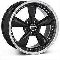 Black Bullitt Motorsport Wheel - 18x9 (94-04 All) - AmericanMuscle Wheels 10082
