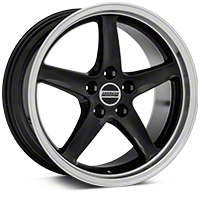 Deep Dish 1995 Cobra R Style Black Wheel - 18x9 (94-04 All) - American Muscle Wheels 10095