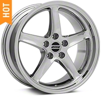 Deep Dish 1995 Cobra R Chrome Wheel - 18x9 (94-04 All) - American Muscle Wheels 10097