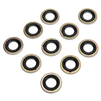 Metal/Rubber Oil Drain Plug Gasket - 10 Pack (79-97 All) - AM Restoration 097-025