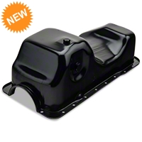 Replacement Oil Pan w/Low Oil Sensor Port (84-95 5.0L) - AM Restoration 264-006