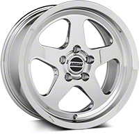 SC Style Chrome Wheel - 17x9 (94-04 All) - American Muscle Wheels 57679650