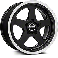 SC Black Wheel - 17x9 (94-04 All) - American Muscle Wheels 57679652