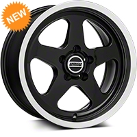 SC Style Black Wheel - 17x9 (94-04 All) - American Muscle Wheels 57679652