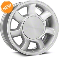93 Cobra Style Silver Wheel LH - 17x8.5 (87-93; Excludes 93 Cobra) - American Muscle Wheels 11878453L