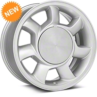 93 Cobra Style Silver Wheel RH - 17x8.5 (87-93; Excludes 93 Cobra) - American Muscle Wheels 11878453R