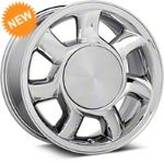 93 Cobra Style Chrome Wheel LH - 17x8.5 (87-93; Excludes 93 Cobra) - American Muscle Wheels 11878450L