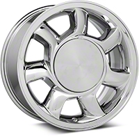 93 Cobra Style Chrome Wheel RH - 17x8.5 (87-93; Excludes 93 Cobra) - American Muscle Wheels 11878450R