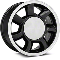 93 Cobra Style Black Wheel RH - 17x8.5 (87-93; Excludes 93 Cobra) - American Muscle Wheels 11878452R