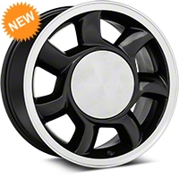 93 Cobra Style Black Wheel LH - 17x8.5 (87-93; Excludes 93 Cobra) - American Muscle Wheels 11878452R