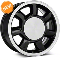 93 Cobra Style Black Wheel RH - 17x8.5 (87-93; Excludes 93 Cobra) - American Muscle Wheels 11878452L