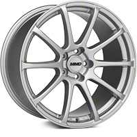 MMD Axim Silver Wheel - 19x10 (05-14 All) - MMD 101032