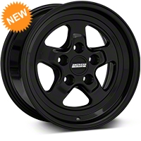 Drag Black Wheel - 15x8 (94-04 GT, V6) - American Muscle Wheels 101039G94