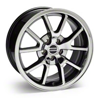 Black-Chrome FR500 Wheel - 18x9 (94-04 All) - AmericanMuscle Wheels 10103