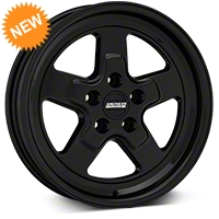 Drag Black Wheel - 17x4 (94-04 All) - American Muscle Wheels 101045G94