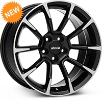 2011 GT/CS Style Black Machined Wheel - 18x9 (05-14 GT, V6) - American Muscle Wheels 101061G05