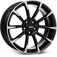 2011 GT/CS Style Black Machined Wheel - 19x8.5 (05-14 All) - American Muscle Wheels 101064G05
