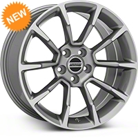 2011 GT/CS Style Anthracite Wheel - 18x9 (05-14 GT, V6) - American Muscle Wheels 101066G05