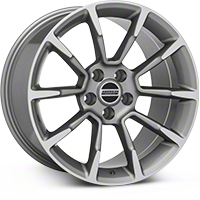 2011 GT/CS Style Anthracite Wheel - 18x10 (05-14 GT, V6) - American Muscle Wheels 101068