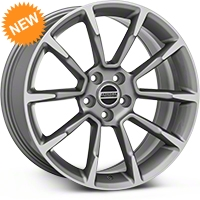 2011 GT/CS Style Anthracite Wheel - 19x8.5 (05-14 All) - American Muscle Wheels 101069G05
