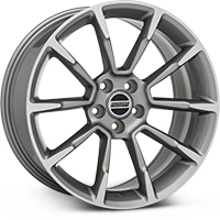 2011 GT/CS Style Anthracite Wheel - 19x8.5 (2015 All) - American Muscle Wheels 101069G15
