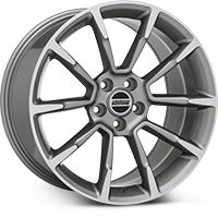2011 GT/CS Style Anthracite Wheel - 19x10 (2015 All) - American Muscle Wheels 101070G15