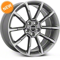 2011 GT/CS Style Anthracite Wheel - 19x10 (05-14 All) - American Muscle Wheels 101070