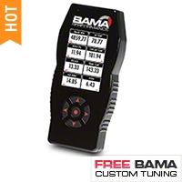 Bama X4/SF4 Power Flash Tuner w/ 2 Custom Tunes (10-12 GT500) - Bama 101200G11SE||7015||101200