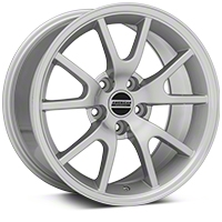 FR500 Style Silver Wheel - 17x9 (94-04 All) - American Muscle Wheels 101201G94