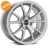 FR500 Silver Wheel - 17x9 (94-04 All) - American Muscle Wheels 101201G94