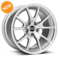FR500 Silver Wheel - 17x10.5 (94-04 All) - American Muscle Wheels 101202