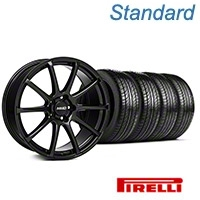 MMD Axim Gloss Black Wheel & Pirelli Tire Kit - 19x8.5 (05-14 All) - MMD KIT||101023||63101