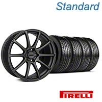 MMD Axim Charcoal Wheel & Pirelli Tire Kit - 19x8.5 (05-14 All) - MMD KIT||101027||63101