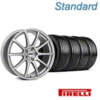 MMD Axim Silver Wheel & Pirelli Tire Kit - 19x8.5 (05-14 All) - MMD KIT||101031||63101