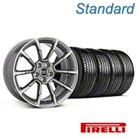 11/12 GT/CS Style Anthracite Wheel & Pirelli Tire Kit - 19x8.5 (05-14 All) - American Muscle Wheels KIT||101069||63101
